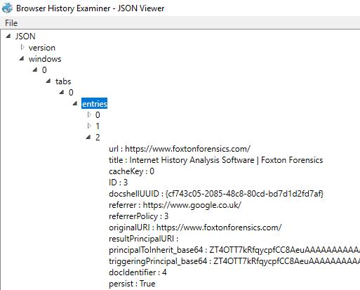 Analysing Firefox Session Restore data - Foxton Forensics Blog
