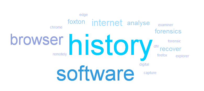 Browser History Examiner v1 9 released - Foxton Forensics Blog